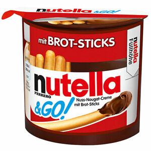 Nutella und GO knusprige Brot Sticks und nutella zum dippen 52g