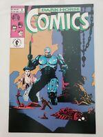 DARK HORSE COMICS #2 (1992) ORIGINAL MIKE MIGNOLA COVER ART! PREDATOR! ROBOCOP!