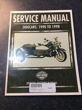 Harley Davidson Side Car Service Manual 90-98 99485-98