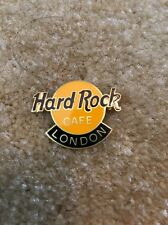Hard Rock Cafe London FC Parry Old Logo Classic Pebble Back Large Print Rare