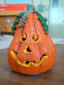NUOVO Halloween mini zucca luci e suoni