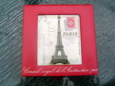 Paris Effel Tower decorated note Cards 250 pages Carte Postale French gift box