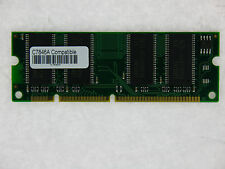 LOT OF 5 PCS C7846A C3913A Q1887A 64MB 100pin SDRAM for HP LaserJet
