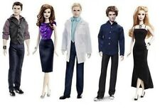 Mattel Twilight Breaking Dawn Barbie Esme Ken Emmet Rosalie Carlisle  4 Dolls