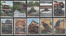 World Heritage Sites SINGLES 2764a-j from Sheet 6 [10 USED Stamps]