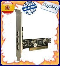 Sweex Us102 tarjeta PCI 4 puertos USB 2.0