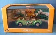 VW VOLKSWAGEN NEW BEETLE CABRIOLET PANACH TOUR DE FRANCE 2006 NOREV 840036 1/43