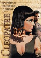 Cleopatra Elizabeth Taylor vintage movie poster print #2