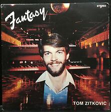 Tom Zitkovic - Fantasy LP VG Private OHIO Organ Roller Rink