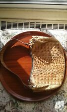 TURTLE purse$65.00 light brown.