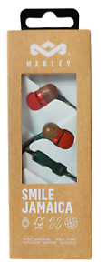 House of Marley Smile Jamaica Fire In-Ear 1 Button Earbud Headphone