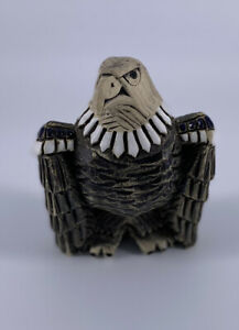 Antique Eagle Carved Paperweight