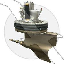 Volvo Penta IPS Upper & Lower Gear Drive Pod Unit IPS-B 3801108 3801110 3803835