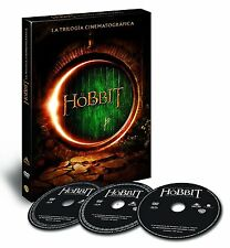 EL HOBBIT TRILOGIA DVD ESPAÑOL NUEVO CASTELLANO SMAUG VIAJE BATALLA NUEVO