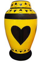 Cremation Urn for Human Ashes Very Beautiful Funeral  Urn Adult urn brass metal
