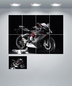MV-AGUSTA F3 675 SUPER BIKE Giant Wall Art Poster Print