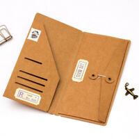 Kraft Paper Pocket Bag Envelope For Traveler Note Book Journal Diary Refill