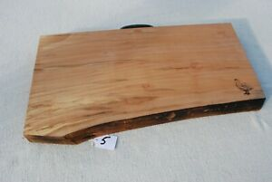 Luxury Spalted Ash Wood Food Chopping, Bread Boards, Serving Board No.5
