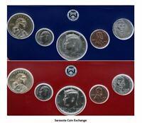 2019 US Mint Set Partial P,D 10 BU Coins in Blister Packages.