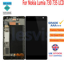 For Nokia Lumia 730 735 LCD Display Touch Screen Digitizer Frame Replacement UK
