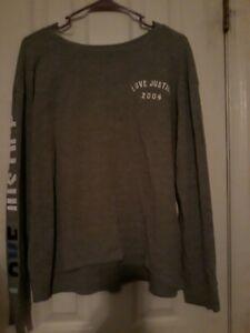 Justice Shirt Sz 22 Plus