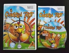 Chicken Riot - Nintendo Wii / Wii U - Free, Fast P&P! - Zapper Gun Compatible
