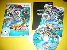 Nintendo Wii Spiel: BEYBLADE METAL FUSION / sehr guter Zustand / OVP / Spielanl