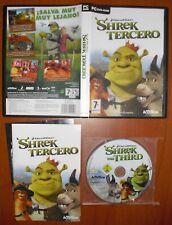 Shrek 3 Tercero [PC DVD-ROM] DreamWorks Activision Versión Española ¡¡COMPLETO!!
