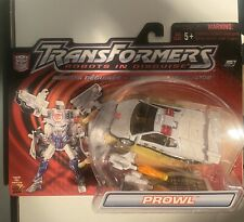 Transformers Robots In Disguise Prowl White Variant Mosc