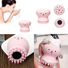 Cute Octopus Style Face Cleanser Skin Care Facial SPA Skin Tool Cleansing Brush