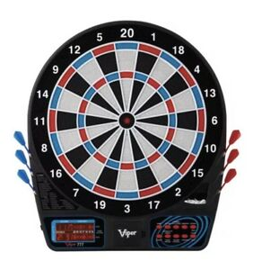 Viper 777 Electronic SOFT TIP LCD Dart Board Set DARTS BATTERY OPERATED Spanish