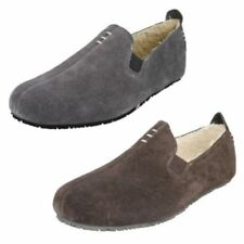 Pantofole da uomo Clarks camoscio