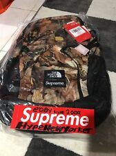 FW16 SUPREME ® / THE NORTH FACE ® TNF BACKPACK LEAVES CAMO BOX LOGO