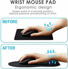 Wrist Support Mouse Pad Mice Mat Computer PC Laptop Non Slip