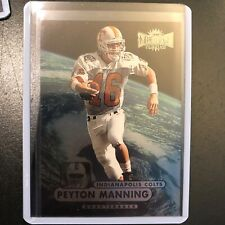 New listing 1998 Fleer Metal Peyton Manning Rookie Card #189- MINT