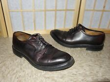 Peal & Co England Made Bespoke Dainite Rubber soles black leather oxford 7 UK 8