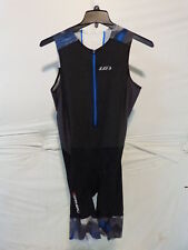 Louis Garneau Pro Carbon Triathlon Suit Men's Xxl Blue Curacao Blue Retail $145