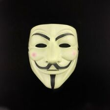 V for Vendetta Mask Fawkes Anonymous Cosplay Mask Brand New Fast Free Shipping!!