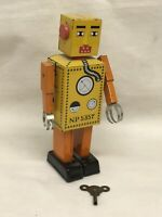 Clockwork Tin Plate Robot.
