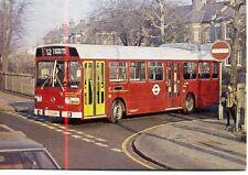 LONDON TRANSPORT Leyland National LS4 bus Clapton Pond unused 1970s postcard