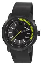Puma Watch Overdrive Black Lime PU103291001 Analog Plastic Black