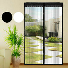 More details for magic curtain door mesh magnetic fastening mosquito fly bug insect net screen