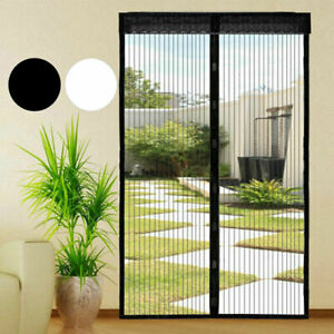 Magic Curtain Door Mesh Magnetic Fastening Mosquito Fly Bug Insect Net Screen