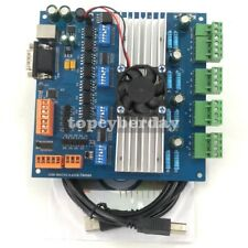 MACH3 4 Axis TB6560 Stepper Motor Driver Board with MPG USB Port + USB Cable