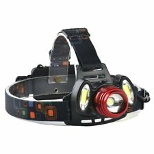 Outdoor Headlight Super Bright for Camping Hiking Fishing Zoomable Focus 4 Modes