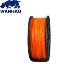 Wanhao Translucent Orange PLA 1.75 mm 1 KG Filament for 3d printer