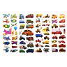 5pcs Bubble Stickers 3D Cartoon KIds ClassicToys Sticker School Reward gift LC