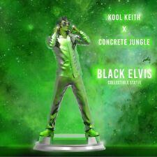 "Kool Keith X Concrete Jungle Black Elvis Resin Misb statue 12"" Steven Cartoccio"