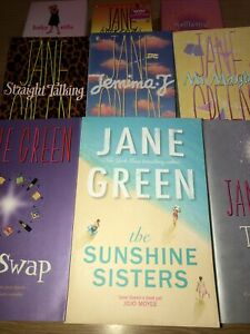 9 Jane Green Books - The Sunshine Sisters Mr Maybe Life Swap Spellbound