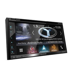 "Kenwood DNX574S 2-DIN In-Dash DVD Bluetooth Navigation Receiver 6.8"" Touchscreen"